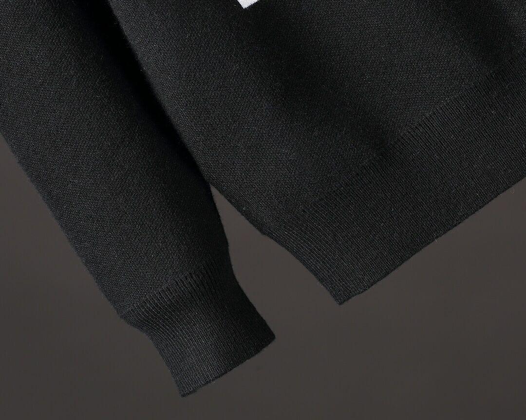 barcode crew neck knitwear    sweater 1A5CE9 5