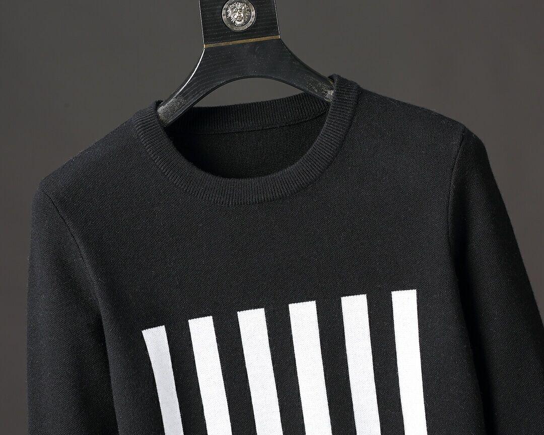 barcode crew neck knitwear    sweater 1A5CE9 9