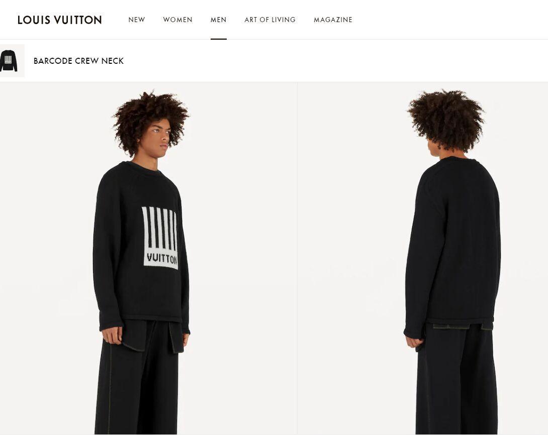 barcode crew neck knitwear    sweater 1A5CE9 3