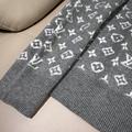 degrade monogram crewneck 1A8FHS    sweater    men sweater    grey sweater  6