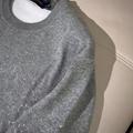 degrade monogram crewneck 1A8FHS    sweater    men sweater    grey sweater  9