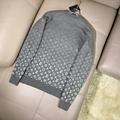 degrade monogram crewneck 1A8FHS    sweater    men sweater    grey sweater  3