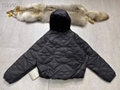 reversible monogram puffer jacket 1A7XO7 metal grey black    coat   11