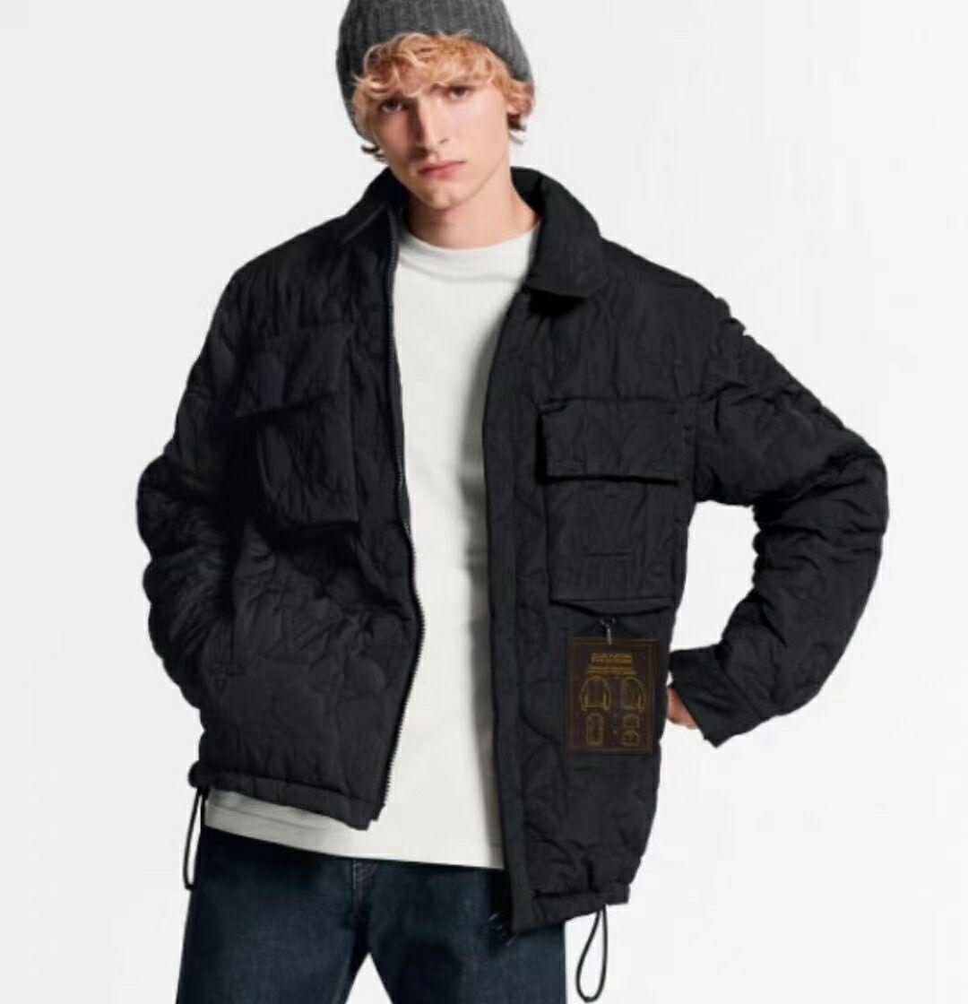 light padded blouson     coat    men coat  1
