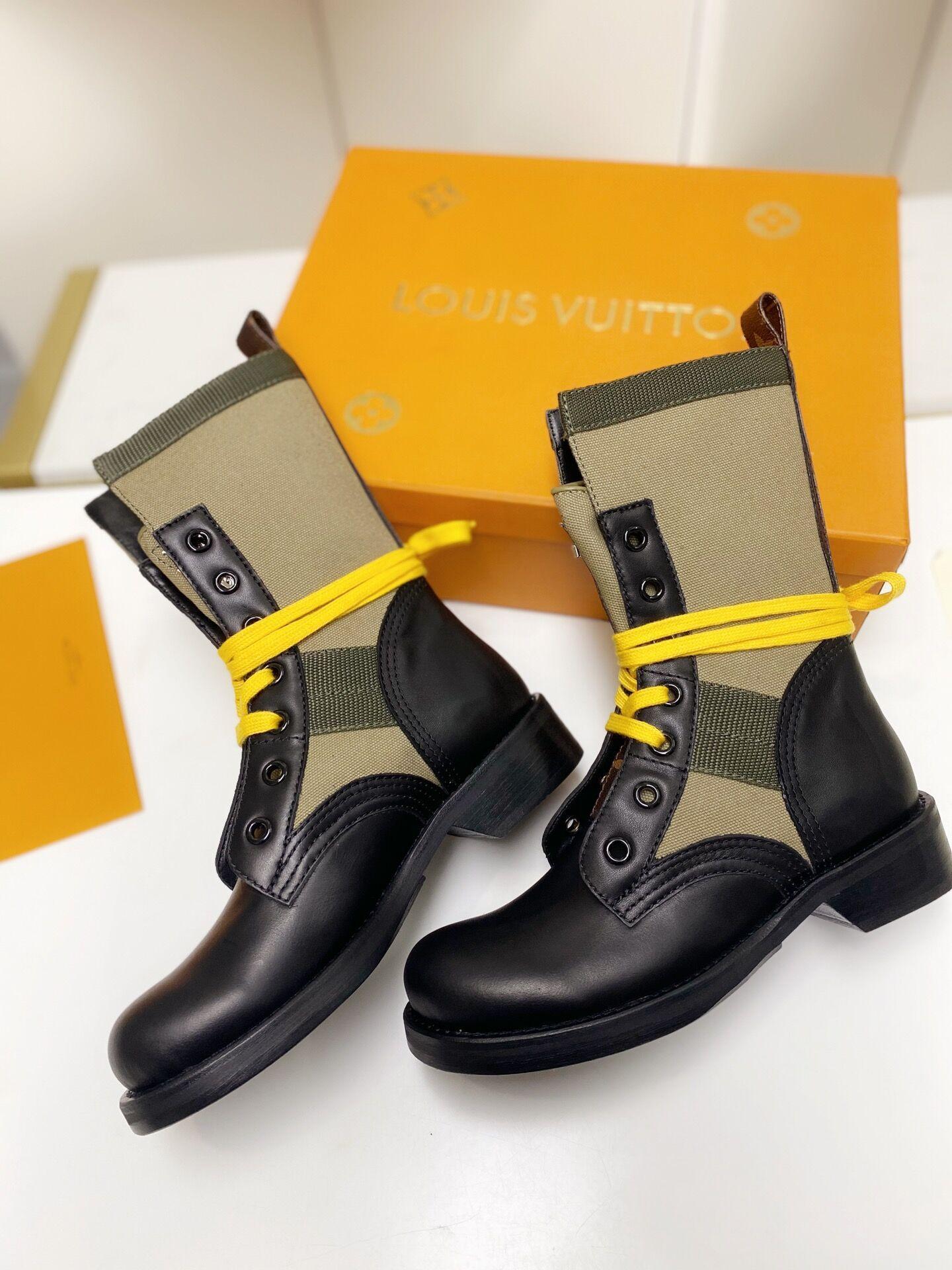 metropolis flat ranger Khaki 1A679B    boot    lady shoes    women boot  4