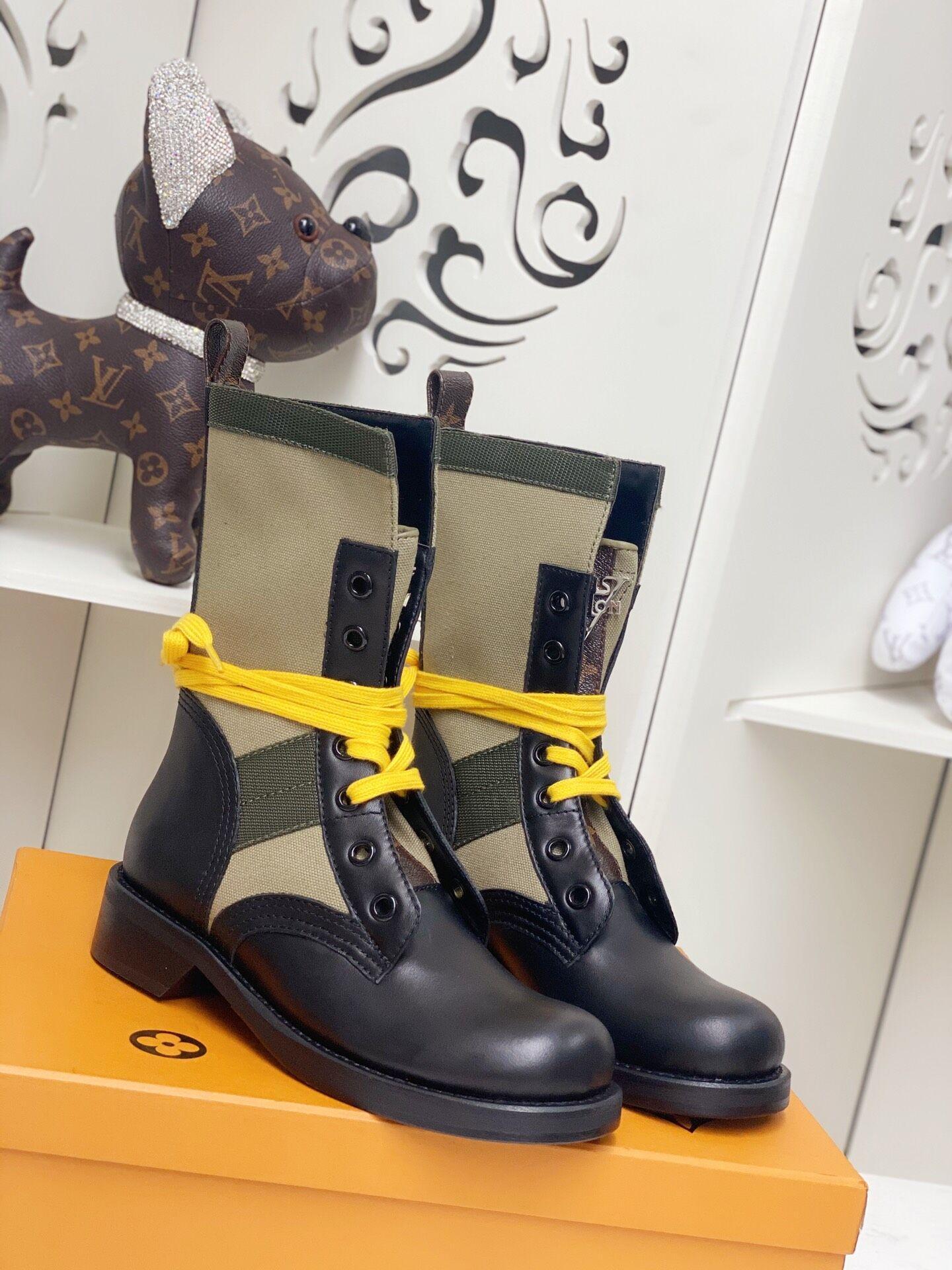 metropolis flat ranger Khaki 1A679B    boot    lady shoes    women boot  1