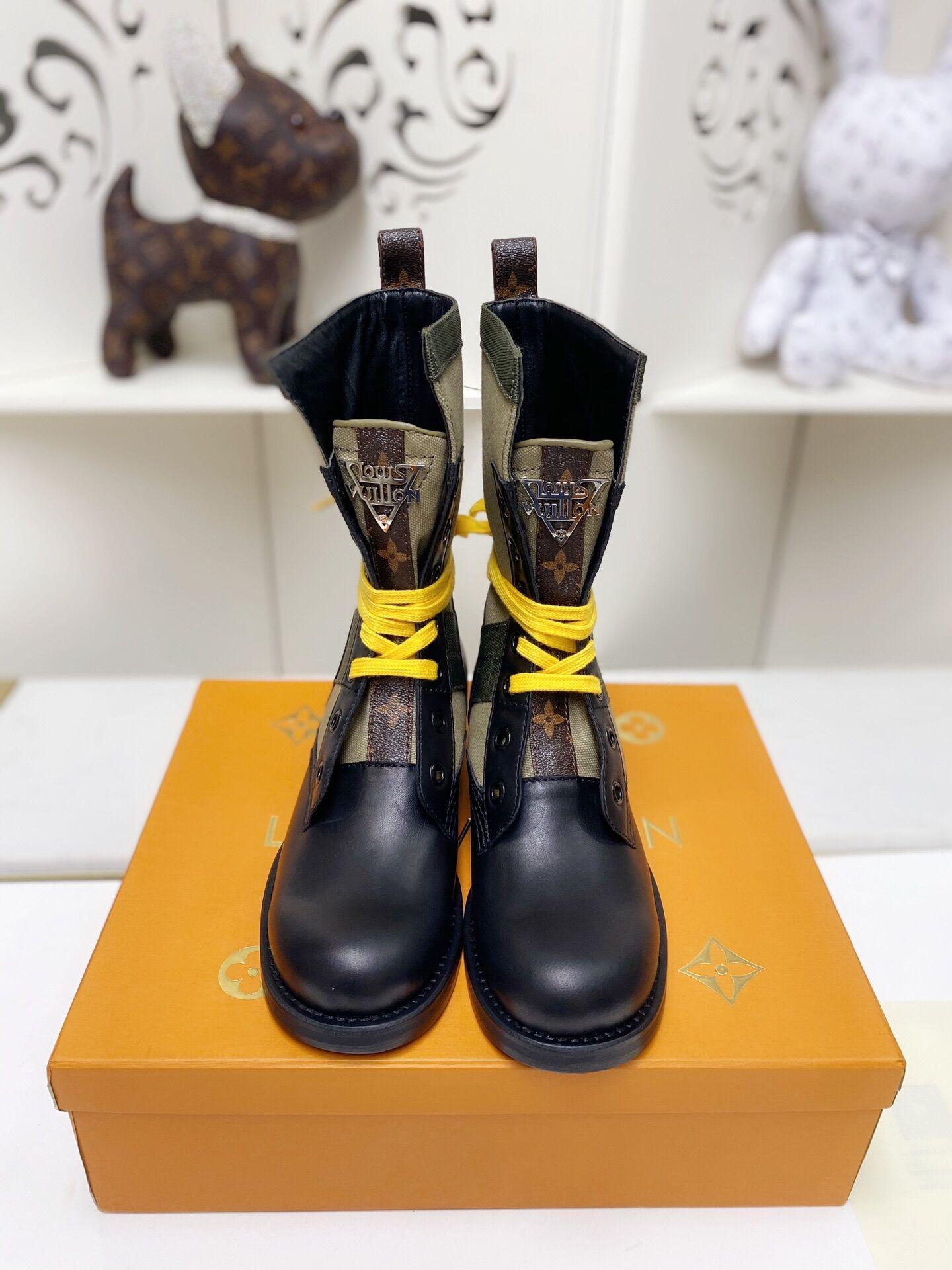 metropolis flat ranger Khaki 1A679B    boot    lady shoes    women boot  8