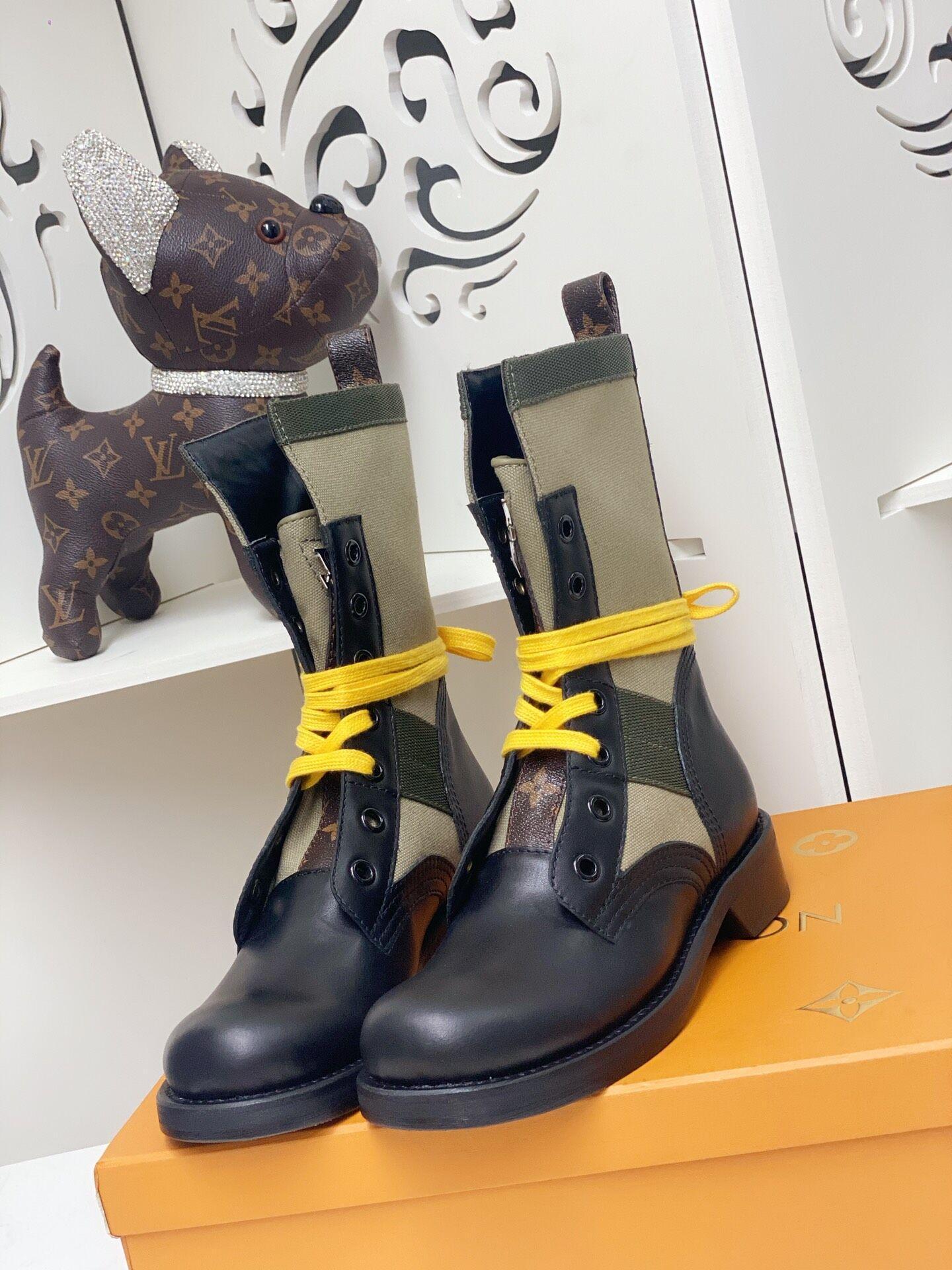 metropolis flat ranger Khaki 1A679B    boot    lady shoes    women boot  9