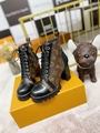 star trail ankle boot Patent Monogram canvas    boot 1A2Y7P 3