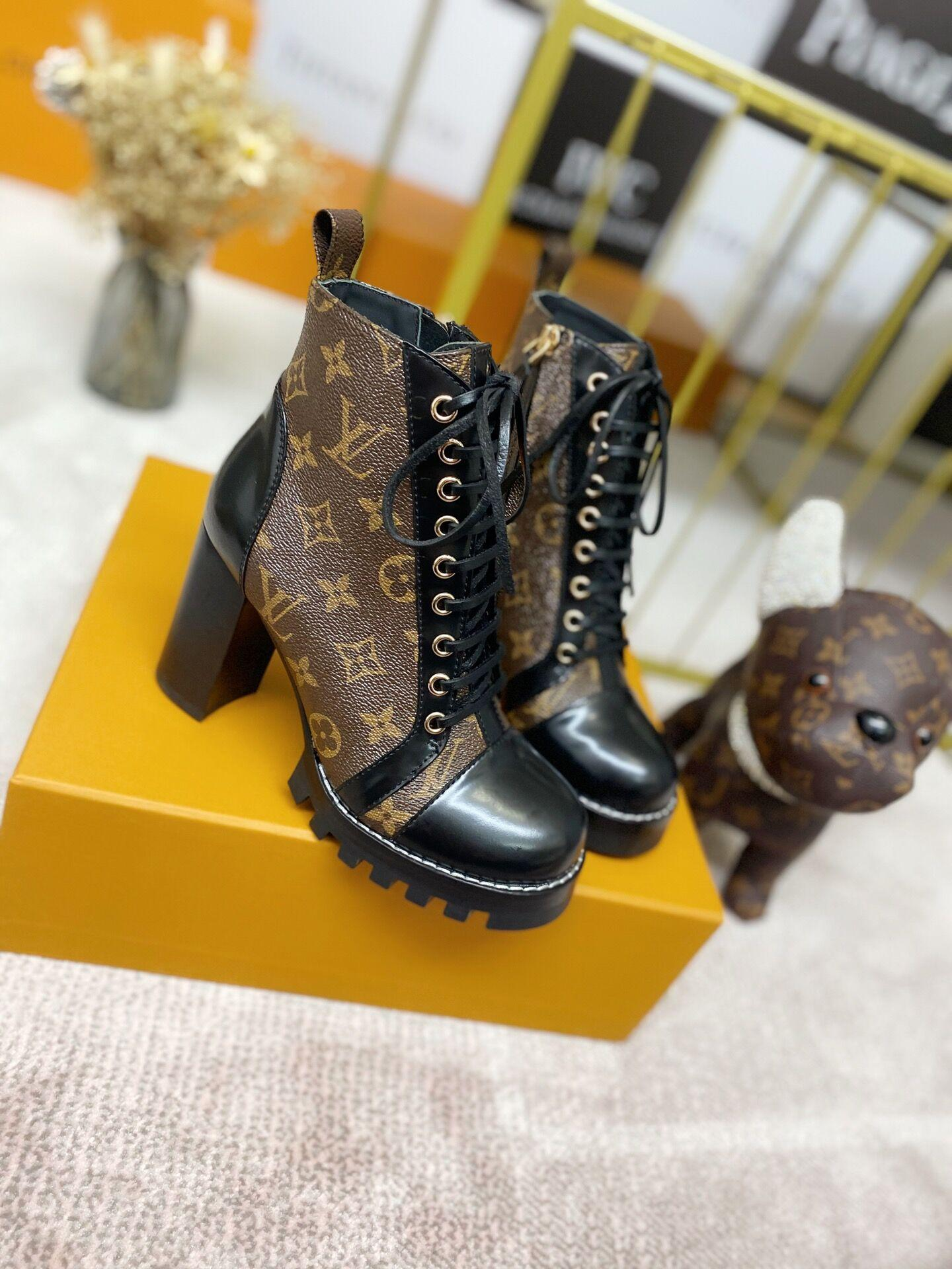 star trail ankle boot Patent Monogram canvas    boot 1A2Y7P 2