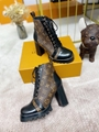 star trail ankle boot Patent Monogram canvas    boot 1A2Y7P 5