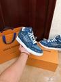 trainer sneaker 1A8MG3 Blue Monogram denim    sneaker    shoes men  3