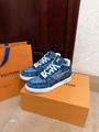trainer sneaker 1A8MG3 Blue Monogram denim    sneaker    shoes men  4