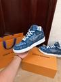trainer sneaker 1A8MG3 Blue Monogram denim    sneaker    shoes men  6