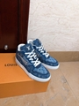 trainer sneaker 1A8MG3 Blue Monogram denim    sneaker    shoes men  7