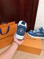 trainer sneaker 1A8MG3 Blue Monogram denim    sneaker    shoes men  8