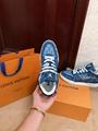 trainer sneaker 1A8MG3 Blue Monogram denim    sneaker    shoes men  9