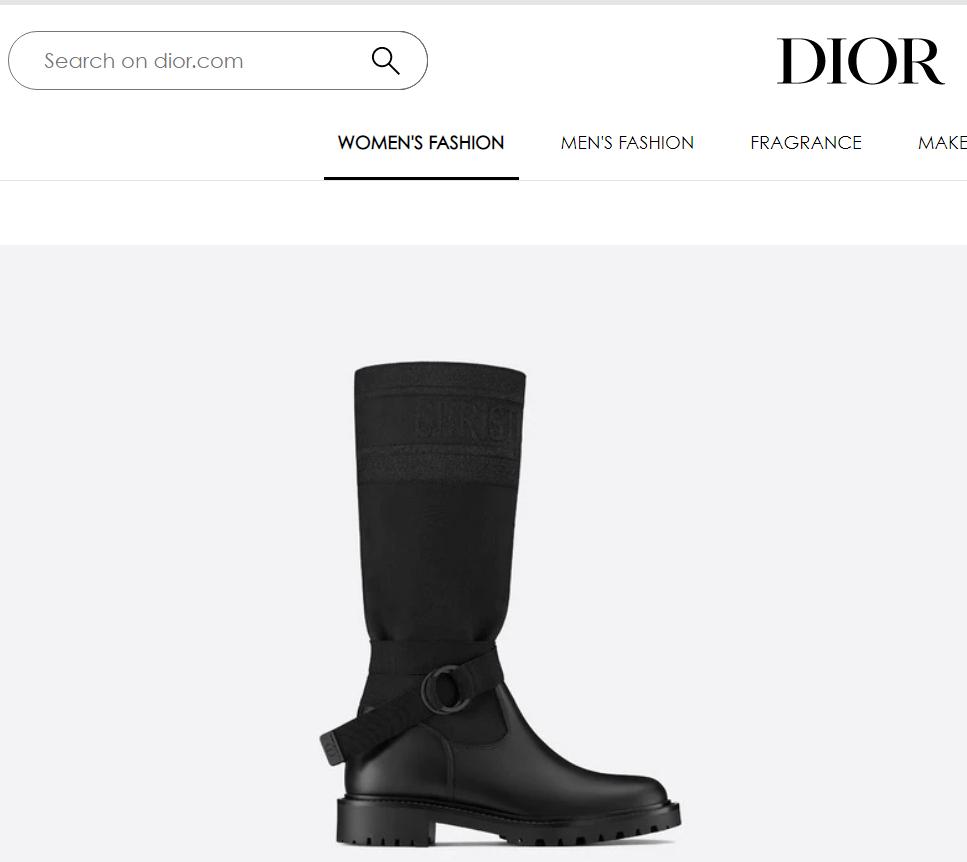 d major boot-black-technical-fabric-and-calfskin 1