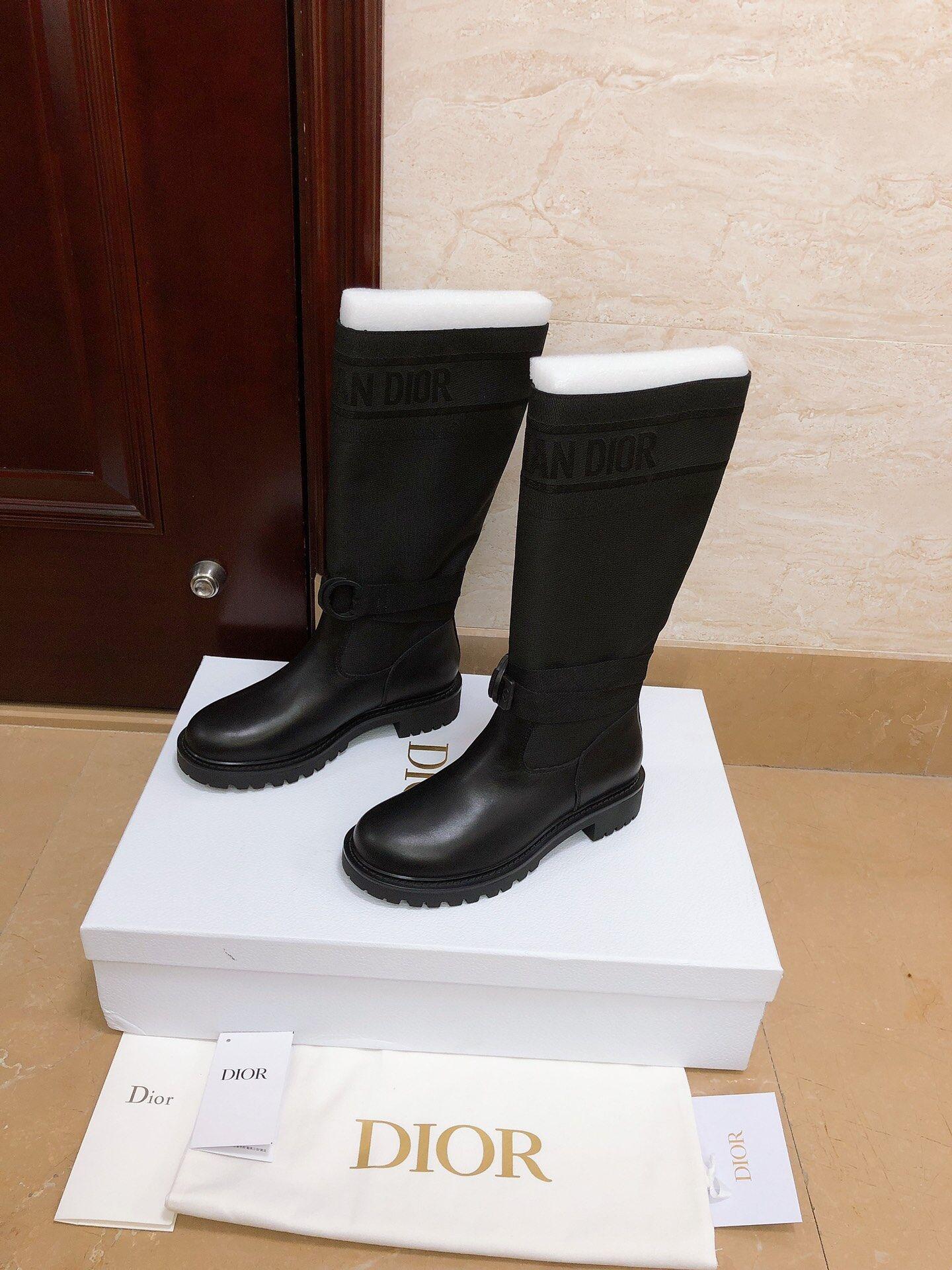 d major boot-black-technical-fabric-and-calfskin 9