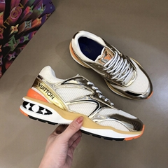 lv trail sneaker 1A7WL3 lv men sneaker gold lv shoes