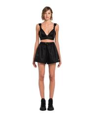 Re-Nylon Gabardine shorts       lady shorts       shorts