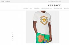 hotsale         tresor medusa embroidered t-shirt         tshirt Embroidered