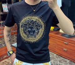 embellished medusa logot-shirt         tshirt         short sleeve
