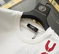 Fendi T-SHIRT White cotton T-shirt fendi tshirt fendi men short sleeve tshirt