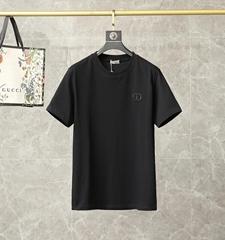 'CD ICON' T-SHIRT Black Cotton dior tshirt dior men tshirt
