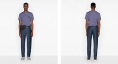 'CD ICON' T-SHIRT Purple Cotton Jersey dior tshirt dior men short sleeve tshirt