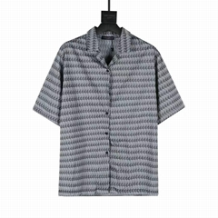 newest short-sleeved shirt    shirt    men shirt