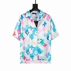 MULTICOLOR WATERCOLOR SHIRT    SHIRT 1A8QX8