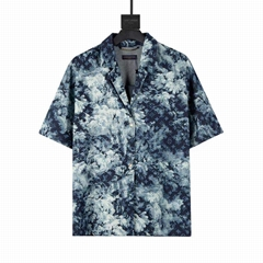 HAWAIIAN TAPESTRY SHIRT    SHIRT    MEN BLUE SHIRT 1A8HGB
