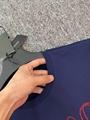 MEDUSA LOGO EMBROIDERED T-SHIRT BLUE VERSACE TSHIRT