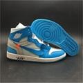 """OFF-WHITE x Air Jordan 1 """"Powder Blue"""""""