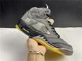 Air Jordan 5 xoff white AJ5 ow 3M