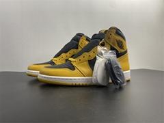 "Air Jordan 1 High OG ""Pollen"" 555088-701 jordan basketball shoes jordan shoes"