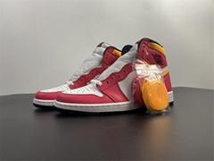 Air Jordan 1 Retro High OG Light Fusion Red 555088-603 jordan shoes