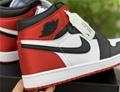 """Air Jordan 1 Satin WMNS """"Black Toe""""CD0461-016  jordan shoes"""