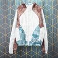 lv monogram marble windbreaker jacket lv jacket 1A976D 100% Polyamide