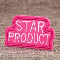 Star Product Embroidered Patches