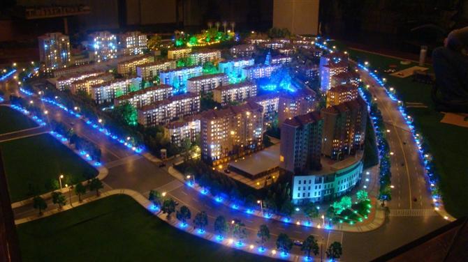 建築模型 2