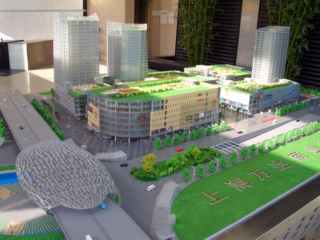 建築模型 4