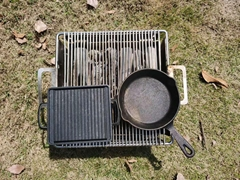 FIRENACE 迷你式烧烤炉 户外便携箱式烤炉FH150 FH300 组合装