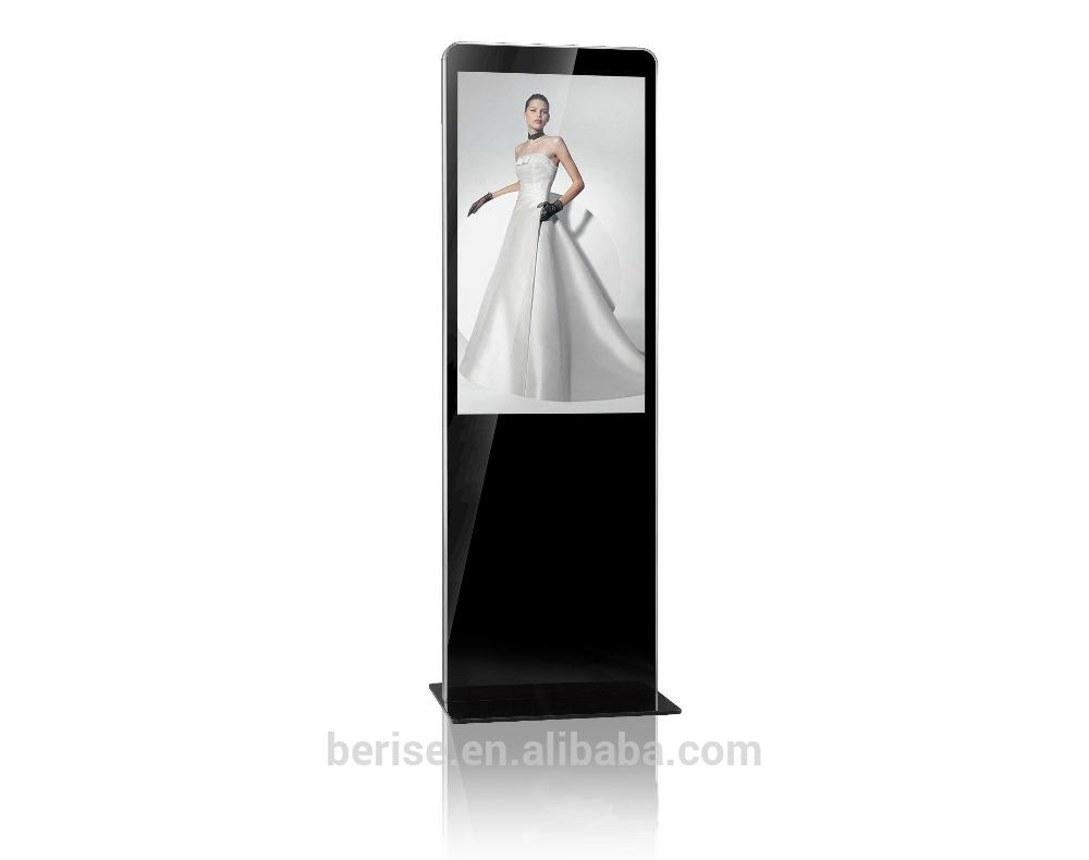 "46"" floor lcd digital signage standing display commercial  indoor  advertising s 1"