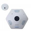 360度鱼眼全景摄像头手机WiFi远程监控高清夜视家庭摄像机 2