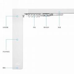 電動窗帘家用電機手機APP控制智能自動開合帘靜音電機軌道