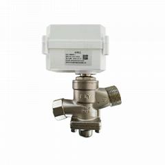 熱網水網電動調節閥 小區供熱供水止回閥 遠程操控直行程調節閥