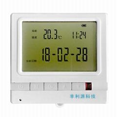 豐利源溫度面積法RD-20NB型帶顯示的無線通信用戶熱量分配用戶終端