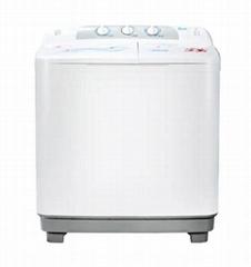 Lefei 9kg large capacity double barrel small household washing machine